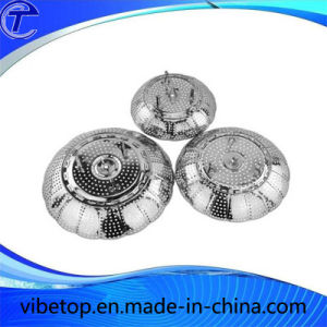 Retractable Multi-Function Stainless Steel Fruit Plate pictures & photos