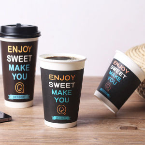 6.5oz Insulated Paper Coffee Cups with Custom Printed pictures & photos