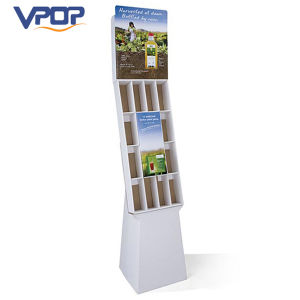 Retail Cardboard Compartment Display Stand for Weed Killer