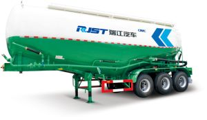 42m3 Vertical Bulk Cement Tanker Semi Trailer pictures & photos