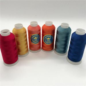 Shanfa High Quality Rayon Embroidery Thread pictures & photos