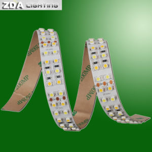 3 Rows 3528 Blue LED Light Strips pictures & photos