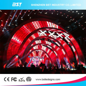 P4.81 SMD2727 Rental LED Video Wall for Show pictures & photos