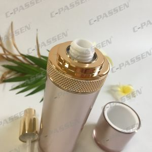 50ml Rose Gold Acrylic Lotion Bottle for Cosmetic Packaging (PPC-ALB-058) pictures & photos