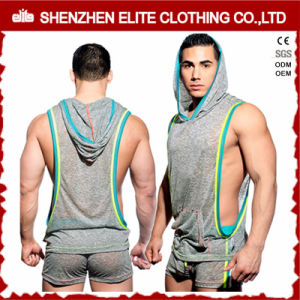 OEM Service Zip up Gym Hoodies Sport Casual Wearing (ELTHSJ-1160) pictures & photos
