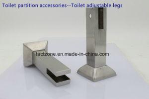 Wholesale New Design Toilet Cubicle Partition Accessories Adjustable Legs pictures & photos