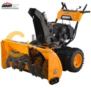 Kc1542GS-a Heavy Duty Snow Blower 4 Wheels 15HP Gasoline/Petrol Engine pictures & photos
