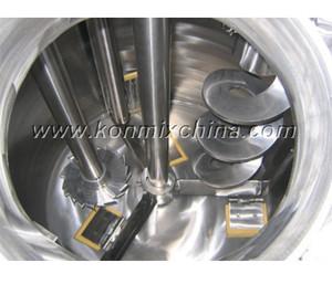 Vacuum Dual Shaft Mixer with Scraper pictures & photos