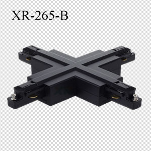 PC Material 2 Wires LED Lighting Track X-Connector (XR-265) pictures & photos