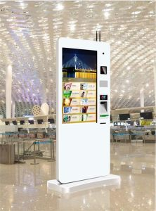 Floor Stand Multitouch Kiosks with PC System pictures & photos
