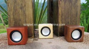 High Quality Wooden Mini Portable Mobile Speaker pictures & photos