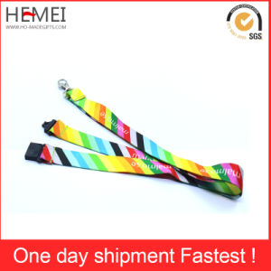 Wholesales Custom Printed Polyester Lanyard/Nylon Lanyard/Woven Lanyard pictures & photos