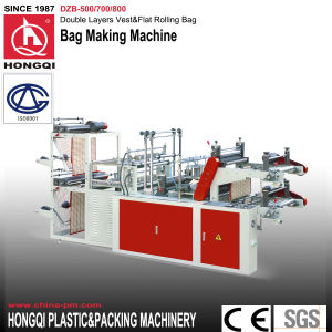 Two Layers Rubbish Rolling Bag Making Machine pictures & photos
