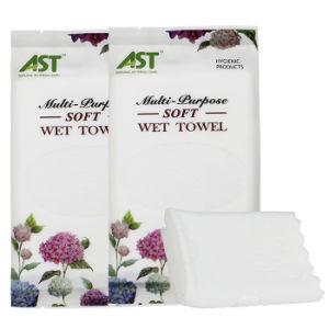 100%Cotton Restaurant Wet Towel Manufacturer Cheap Disposable Wet Towel pictures & photos