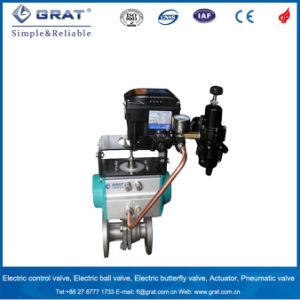 Cast Steel Pneumatic Operated Floating Ball Valve pictures & photos
