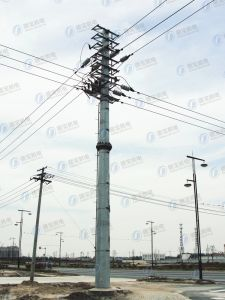 Steel Galvanized Line Transmission Tower