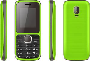 OEM 1.8 Inch GSM Feature Phone Bar Type Dual SIM Elder Mobile Basic Function Phone A19 pictures & photos
