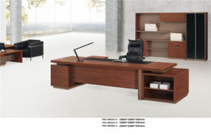 Modern Design Walnut Office Executive Desk for Sale pictures & photos