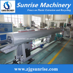 Plastic HDPE PE Pipe Extrusion Production Line Factory Price pictures & photos