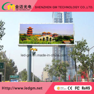 Outdoor Traffic LED Advertising Display, P10mm Full Color LED panel pictures & photos