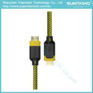 High Speed HDMI Cable with Dual Color PVC Shell pictures & photos