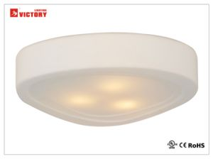 LED Simplism Trilateral Ceiling Lamp Light with Glass for Living Room pictures & photos
