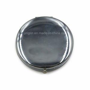 Hot High Quanlity Promotional Custom Metal Makeup Mirror pictures & photos