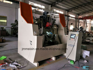 High Speed 5 Axis 3 Heads CNC Drilling and Tufting Brush Making Machine/Broom Making Machine (2 drilling and 1 tufting) pictures & photos