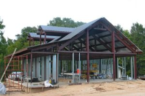 Double Slope Modular Steel Structure Warehouse Building pictures & photos