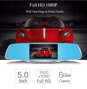 Front Resolution 1920*1080P Video Recorder with 5 Inch IPS Screen pictures & photos