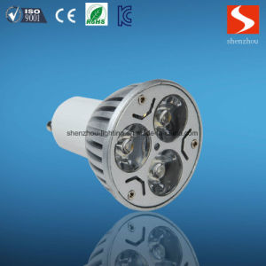 3W GU10 110-240V LED Spot Light with Ce RoHS Approved pictures & photos