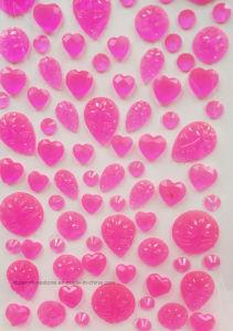3D Diamond Sticker Self-Adhesive Vinyl Rose Rhinestone Sticker (TS-139 Rose/Luminous) pictures & photos