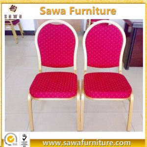 Hotel Furniture Banquet Hall Chair Aluminum Frame Used Banquet Chair for Sale pictures & photos