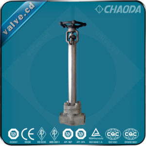 Female Threaded Forged Cryogenic Gate Valve pictures & photos