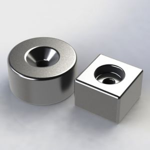 High Performance Sintered Neodymium Countersunk Magnet pictures & photos