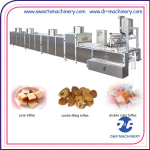 Commercial Fudge Making Equipment Automatic Toffee Candy Depositing Line pictures & photos