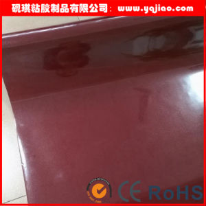 High Glossy PVC Laminate Film/Membrane Press Film/Vacuum Pressing Film pictures & photos