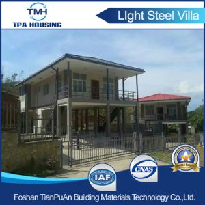 Steel Structure Frame Prefabricated House with Elevation pictures & photos