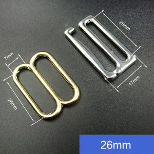 Underwear Accessories Gold Adjustable Metal Swimwear Buckle pictures & photos
