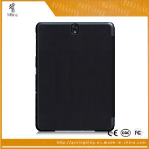 Slim Magnetic Folding Smart Flip Leather Covers Tablet Cases for Samsung Galaxy Tab S3 9.7 T820 T825 pictures & photos