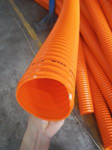 Yellow PVC Flexible Smooth Surface Suction Hose pictures & photos