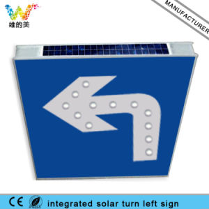 Integrated Aluminum Board Solar Traffic Stop Sign pictures & photos
