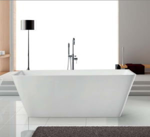 Freestanding Acrylic Bathtub Simple with Upc Ce Acs Saso pictures & photos