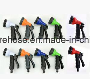 Ebay Elastic Hose Blue Lightweight Expandable Garden Hose + 8 Function Spray Nozzle pictures & photos