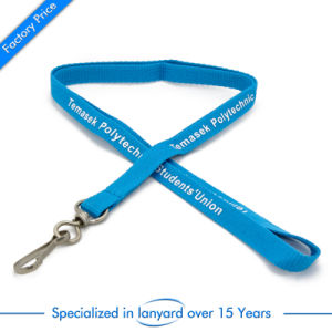 Promotional Gift Flat Polyester Neck Strap pictures & photos