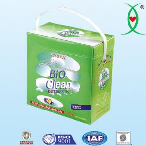 Biodegradable Natural Laundry Detergent Power pictures & photos