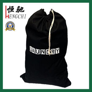 Factory Audit Resuable Cotton Drawstring Lunch Bag pictures & photos
