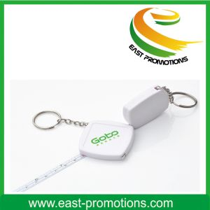 Novelty Custom Small Tape Measure Keychain pictures & photos