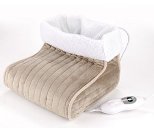 Soft and Comfortable Electric Flannel Foot Warmer pictures & photos