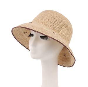 Raffia Straw Broad Brim Hat pictures & photos